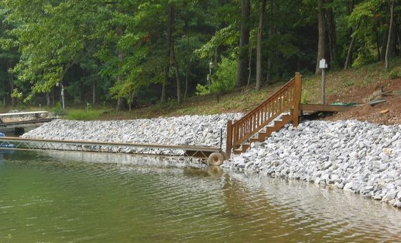 Rip Rap Rock Lakescaping In 2019 Pond Construction