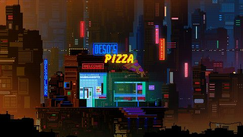 Russian artist best known as Waneellacreates 8-bit pixel art works. Here are some gif pictures of urbanscapes from her new series Pixel Cities!