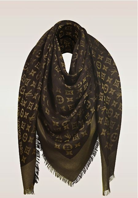 Louis Vuitton monogram shawl                                                                                                                                                                                 More