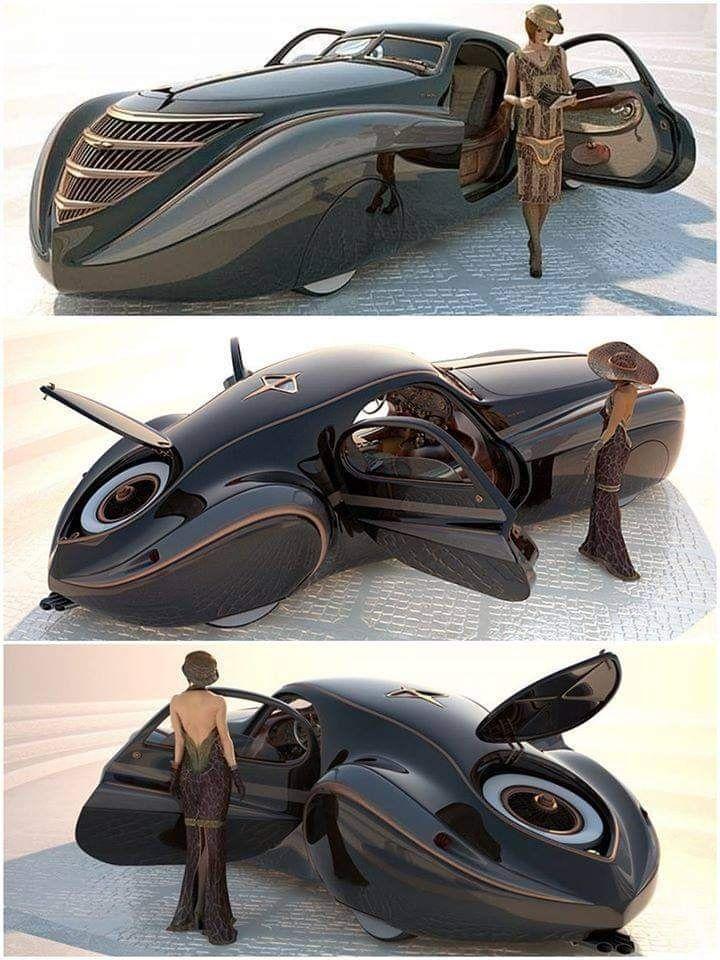 1939 Duesenberg Coupe : duesenberg, coupe, Duesenberg, Coupé, Simone, Midnight, Ghost, Futuristic, Cars,