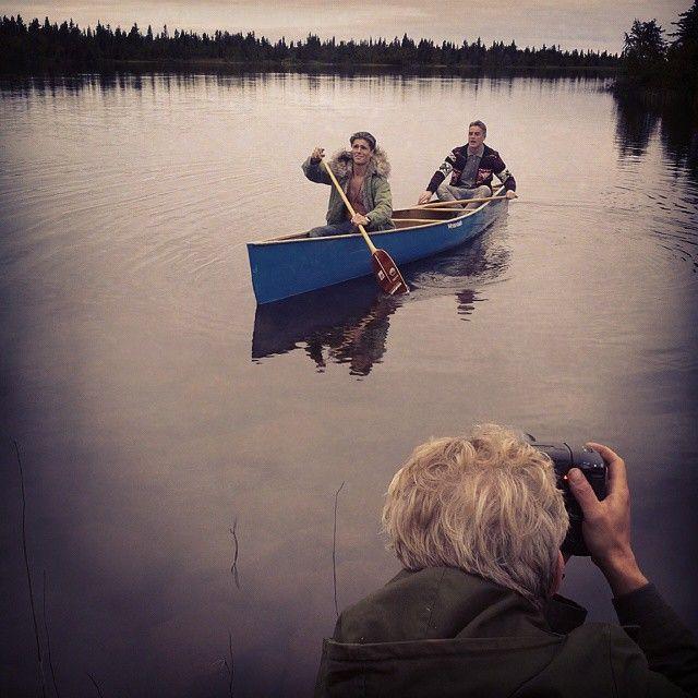 Take the canoe to a hidden lake. Somewhere in Sorsele, Swedish Lapland. #canoe