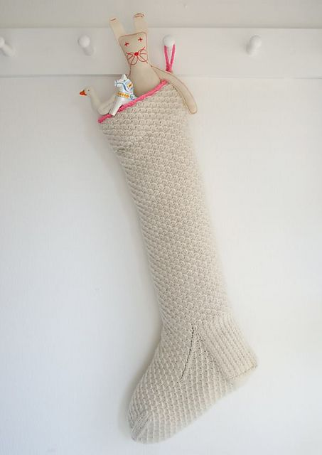 Christmas Stocking Knitting Pattern Ravelry : Ravelry: Heirloom Christmas Stocking pattern by Purl Soho ...