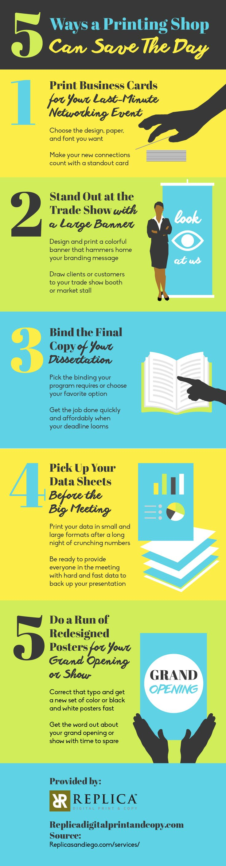 Printing and binding your dissertation is an aspect you shouldn't overlook, especially with your deadline coming up! Find out how the printing shop can help by looking at this infographic on common services.