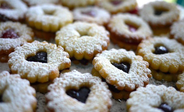 """Spitzbuebe"" are my favorite Swiss Christmas cookies, and here's the recipe via @newlyswissed"