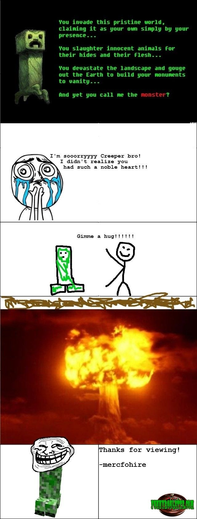 Funny picture: Minecraft