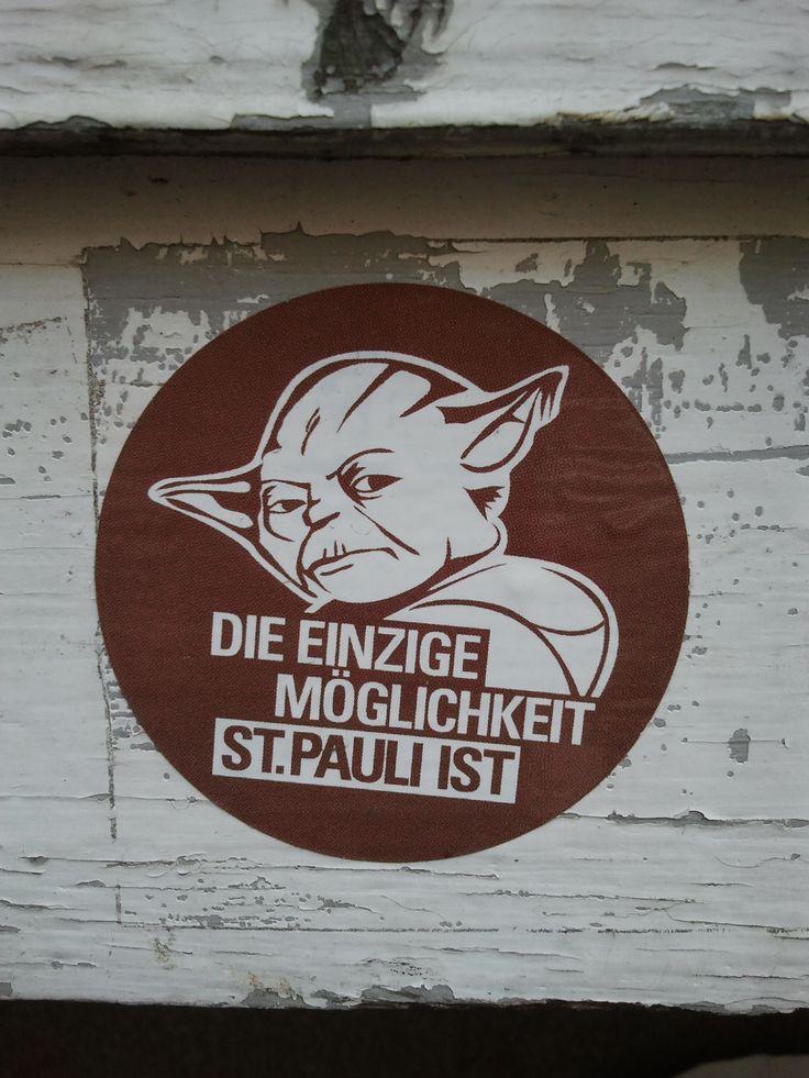 St. Pauli, Street art; Die einzige Möglichkeit St. Pauli ist