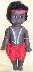 "Aboriginal Boy Doll [small - 13""] Price:  $27.00"