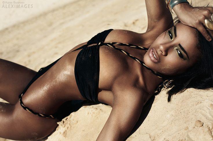 by Alexei BazdarevBeautifu Body, Beach Wear, Sexy Swimsuits, Angled, Body Beautiful, Black Sexy, Fashion Photography, Black Beautiful, Alexei Bazdarev