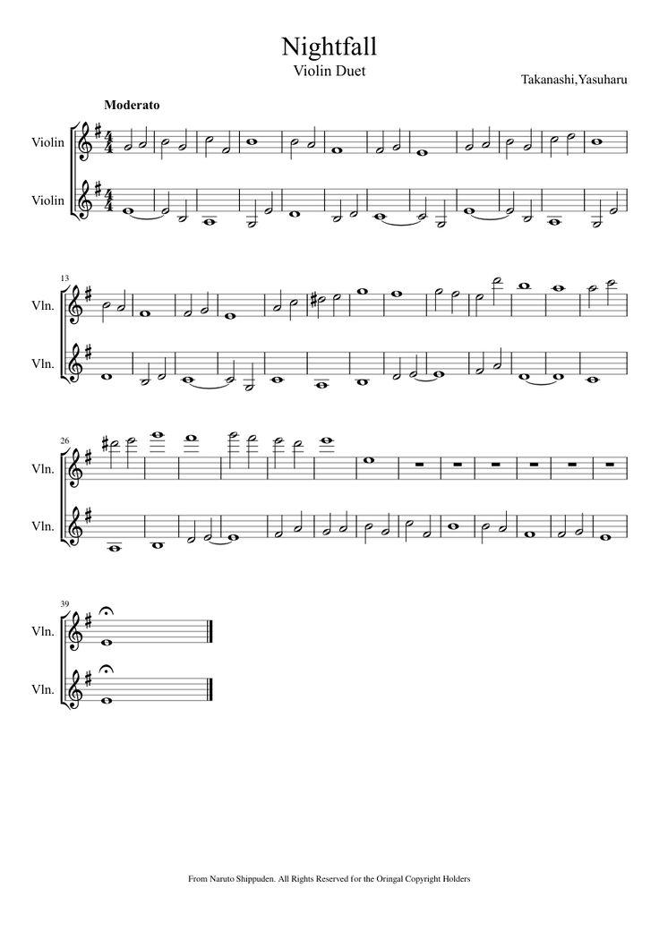naruto sadness and sorrow sheet music pdf