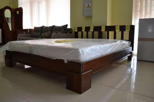 Ліжко деревяне 160*200 Тернополь - изображение 3