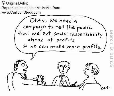 Image result for cartoon corporate responsibility