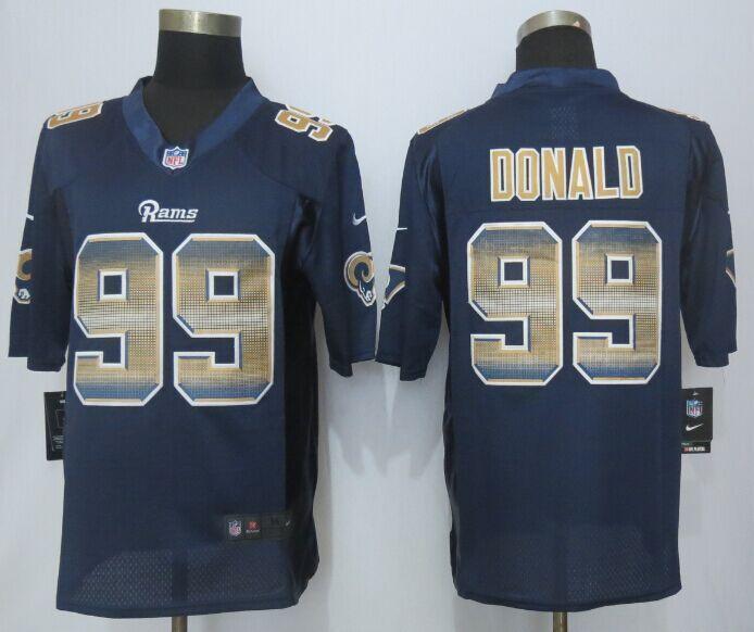 St.Louis Rams 99 Donald Navy Blue Strobe 2015 New Nike Limited Jersey 3548b6fd4