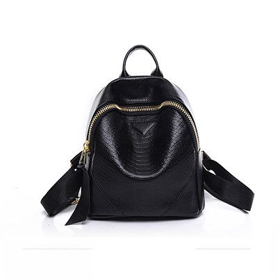 High Quality Serpentine PU Leather Backpack Mochilas Feminina Backpacks For Teenage Girls Shopping Backpacks Colorful Sac A Dos