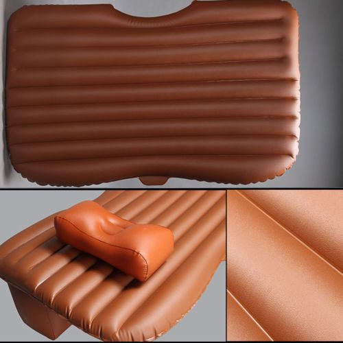 Auto/Car/SUV Inflatable Bed Travel TPU Air Mattress Bed Cushion Seat Sleep Rest