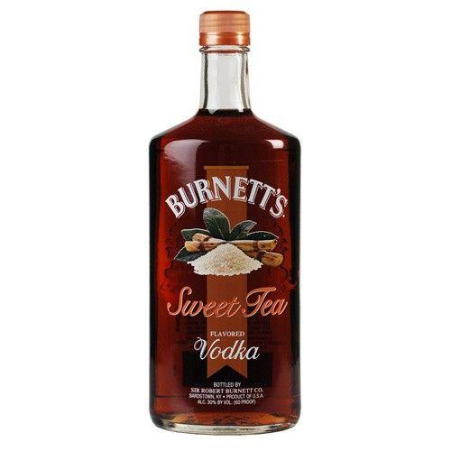 Burnett's Sweet Tea Vodka.  Fantastic for summer time drinks on the patio. Mix with lemonade. Almost tastes like a Long Island Iced Tea drink.