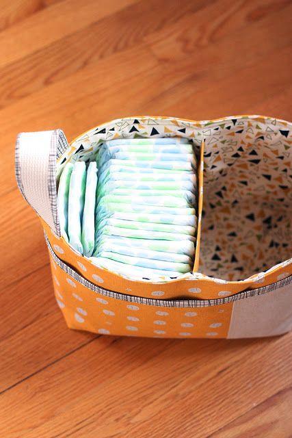 Noodlehead: Divided Basket Pattern