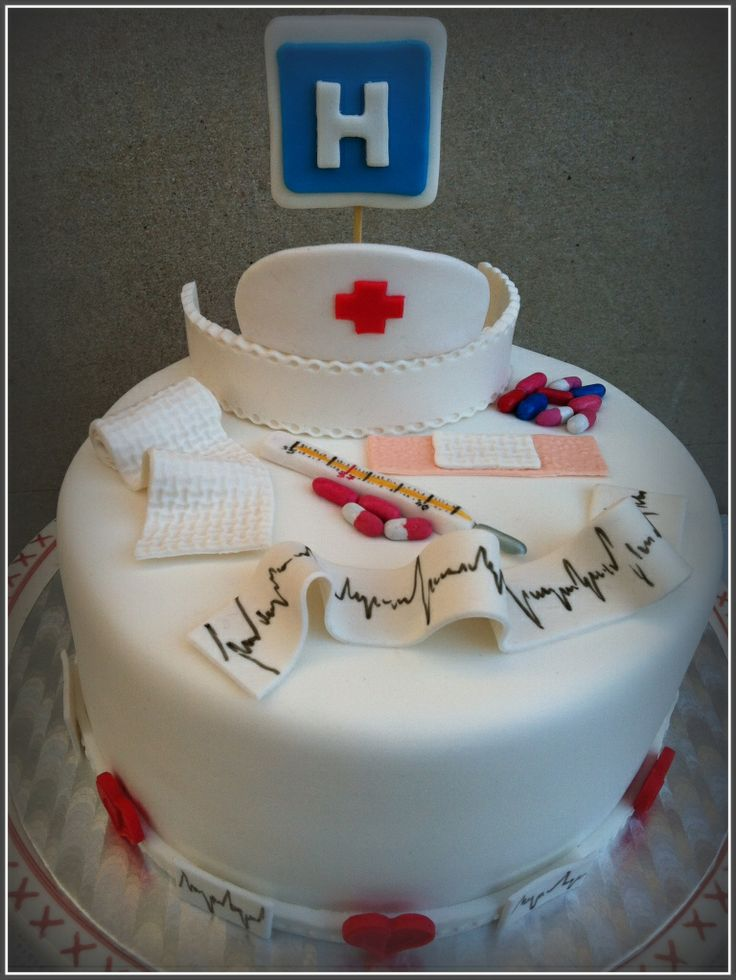 "my graduation cake - except a light purple instead of white and instead of ""h"" it will say ""LPN"""