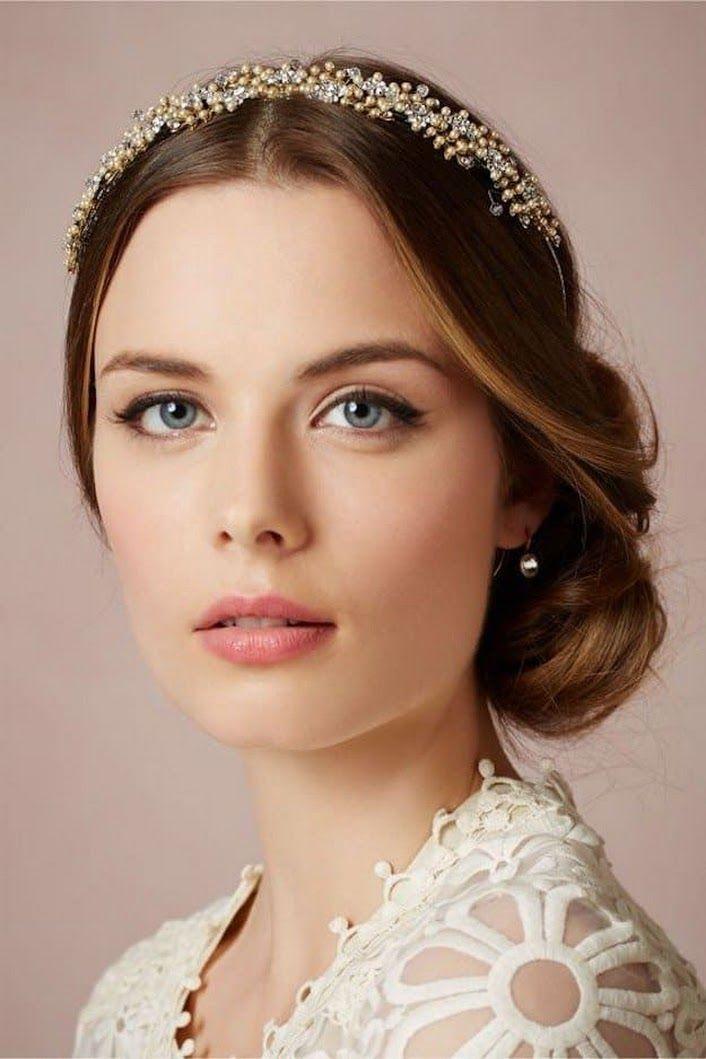 Plus belles coupes de cheveux longs tendance 2017 Coupe en image Description Romantic Look | Wedding Makeup Looks Inspiration For Your Big Day - flashmode tendance - Google+