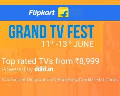 #flipkart #tvoffers - 60% Off +Upto 27000 Off exchange -Flipkart Grand TV Fest Offers