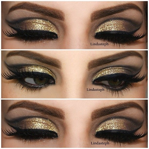 85 best images about silver, gold & glitter makeup on Pinterest ...