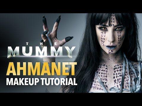 The Mummy - Ahmanet makeup tutorial - YouTube