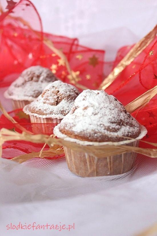 Waniliowe muffiny z żurawiną, które mogą posłużyć nam za pyszne i stosunkowo szybkie II śniadanie