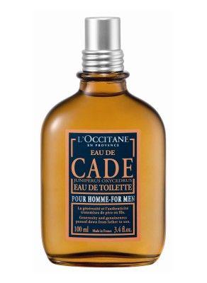 L'OCCITANE NEW FRAGRANE FOR MEN 'EAU DE CADE'
