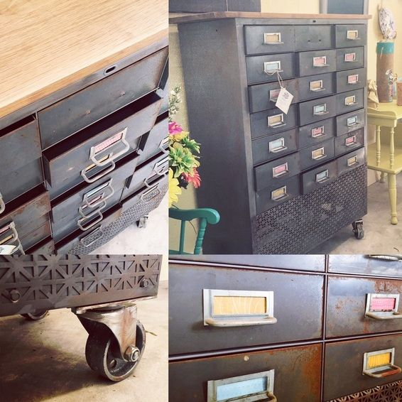 Industrial cabinet.