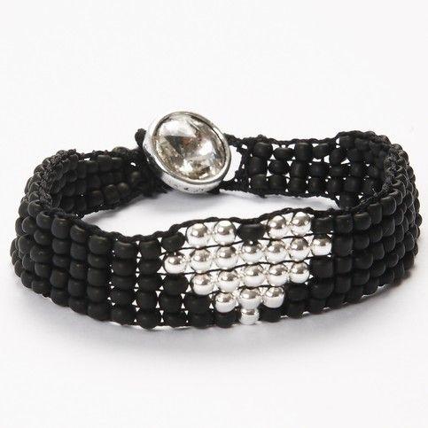 12842 A Bead Bracelet made on a Bead Loom