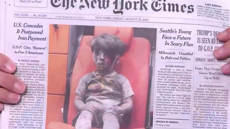 Top Talkers: The Syrian boy, Omran Daqneesh, has become the latest face of the horror of war in Syria. The Morning Joe panel discusses.