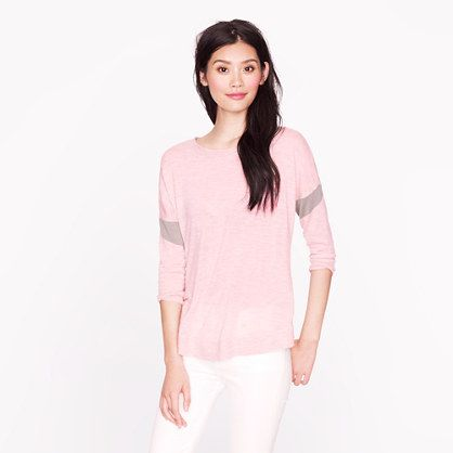 J Crew Collection featherweight cashmere armband sweater