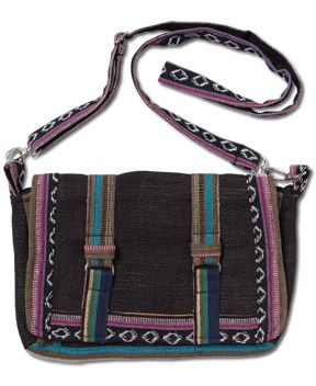 Soul Flower - NEW! Night Nomad Hemp Satchel - $24.00