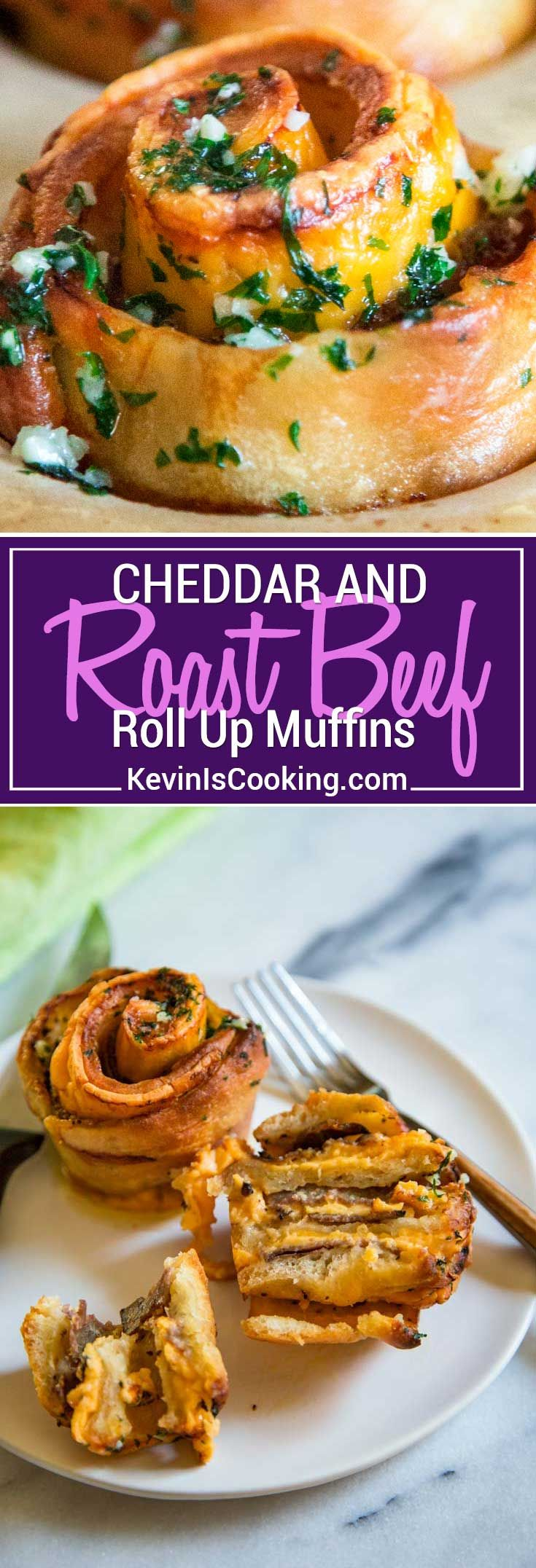 2017 05 potluck ideas for small groups - My Baked Roast Beef Cheddar Muffins Start With Pizza Dough Smothered In Dijon Horseradish Cream