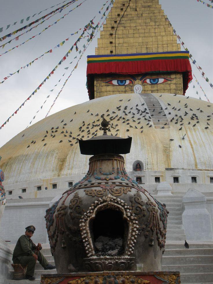Boudanath Kathmandu Nepal