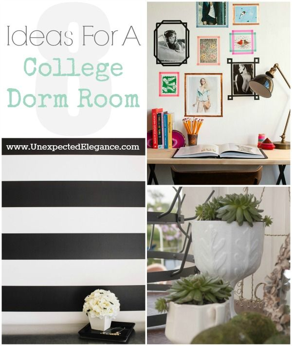 1000+ images about College dorm on Pinterest  Dorm  ~ 121707_Dorm Room Space Saver Ideas