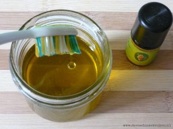Een oliemix die je zelf kunt maken en een perfect middel tegen een slechte adem is, maar ook prima is om je tanden mee te poetsen