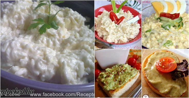 Finomak, olcsók és egészségesek! Felejtsd el a bolti szendvicskrémeket, otthon sokkal finomabbat készíthetsz!