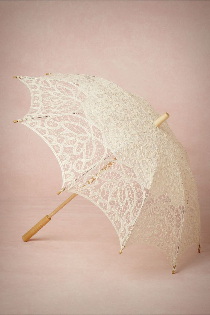 Picturesque Parasol from BHLDN $78, if we opt not to have the doors blocking me from view, I could always hide behind this lovely....