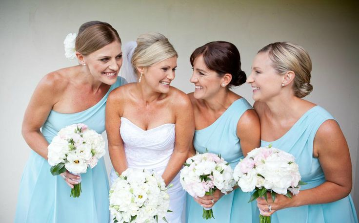 The most cuties bridal party all made up  Browse at: www.looklovewed.co.nz