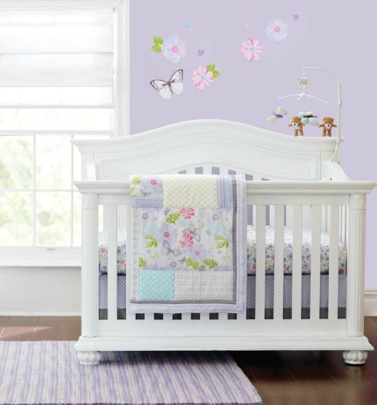 Butterfly Bedding Sets For Cribs