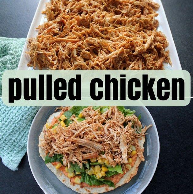 Ultra mør og lækker pulled chicken, der smager helt forrygende. Opskriften kræver kun to ingredienser, og kødet er super godt i tacos, burgers eller tortillas.