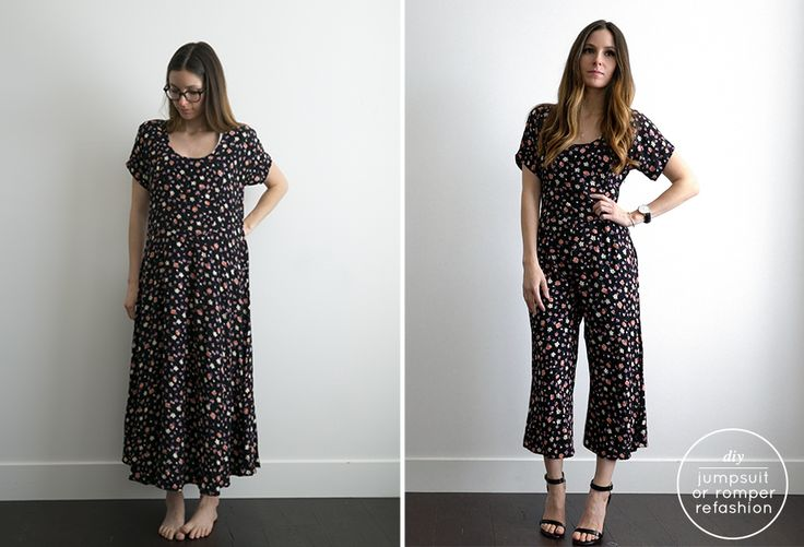 Watch: Daniel Wellington Make this jumpsuit from almost any dress or cut the legs short and make it into a romper perfect for Summer! As I was sewing this together I was shocked with how easy this …