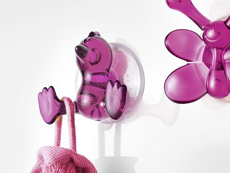 Wieszak łazienkowy Baby Bird Pink