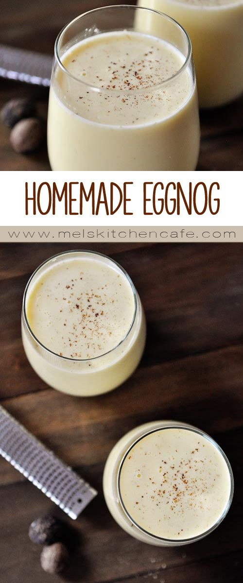 If you have never tried homemade eggnog, you are in for a very special treat!