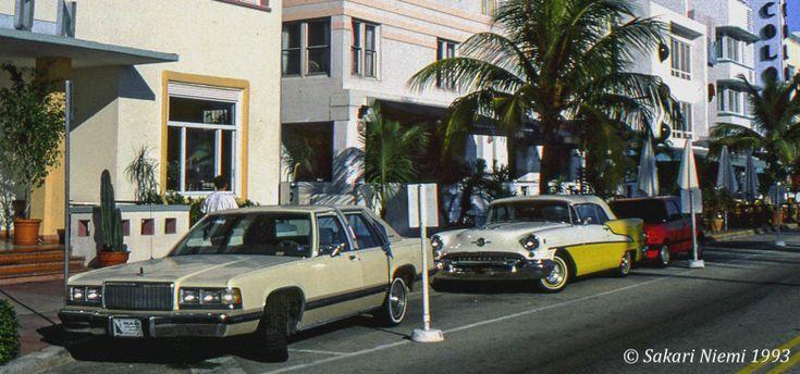 US151524 Yhdysvallat Miami Beachin Ocean Drive