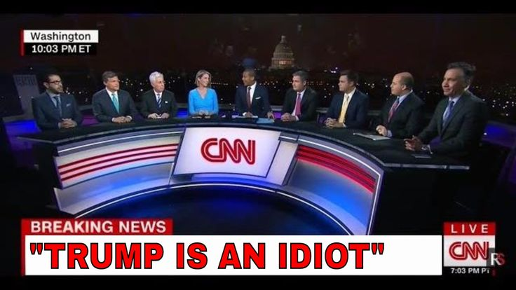 """""""i'ts A complete DISASTER!"""" CNN Politics Panel ANGRY REACTION To Trump's..."""