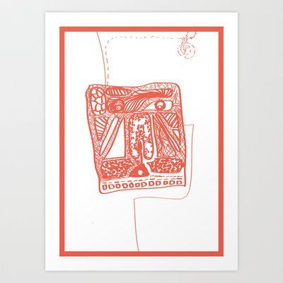 Thimk Art Print by Abanoub Sobhy - $17.99