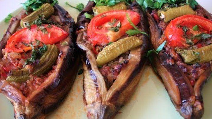 баклажаны по Турецки (в духовке)