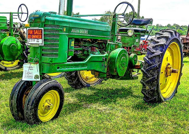 1951 John Deere Model B | Gary Crabtree displayed it at the … | Flickr