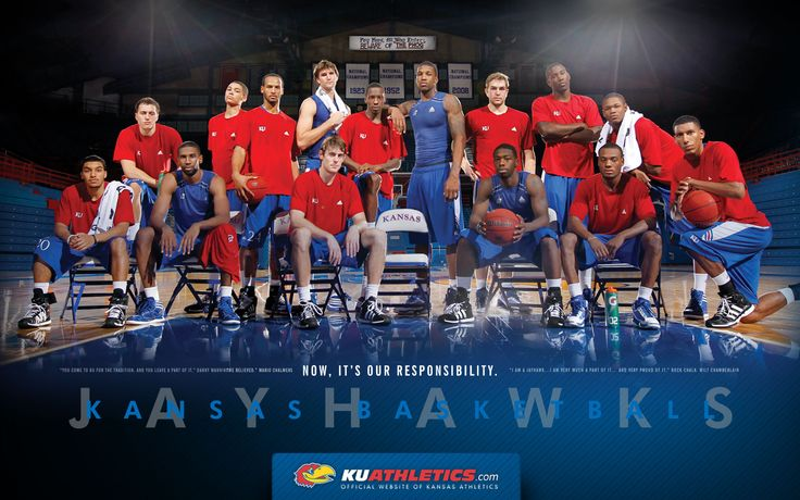 2011-2012 University of Kansas Jayhawks, my favorite KU team. Rock Chalk Jayhawk!